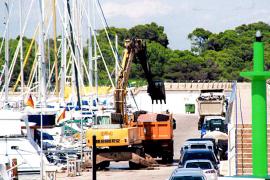 Medi Ambient y Ports elaboran un informe para esclarecer el dragado y los vertidos de sa Ràpita