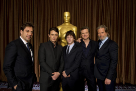 Best actor nominees pose at Oscar luncheon