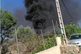 Fuego en Marratxí