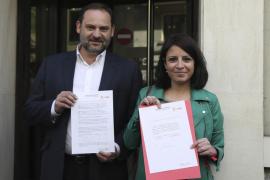 El diputado Ábalos, portavoz provisional del PSOE en el Congreso