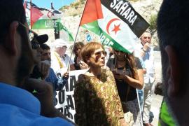 El buque con arena del Sáhara cuenta con los permisos para descargar en Palma