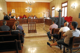 Los cinco acusados integraban un grupo organizado para robar en Ibiza