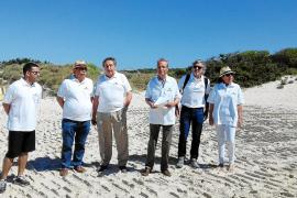 Fomento del Turismo lanza la voz de alarma por la «dejadez» en la gestión de es Trenc