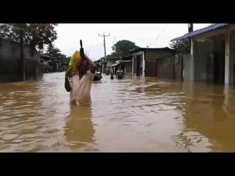 Al menos 91 muertos y 110 desaparecidos por inundaciones en Sri Lanka