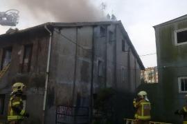 Cuatro fallecidos, entre ellos un bebé, en un incendio en Bilbao