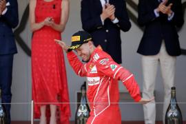 Vettel gana en Mónaco, donde Sainz termina sexto