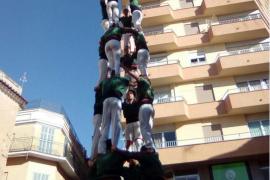 Los Al·lots de Llevant y los Castellers de Mallorca vuelven a poner a la isla en el mapa 'casteller'
