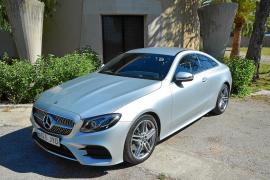 Mercedes Clase E Coupé: Elegancia y deportividad
