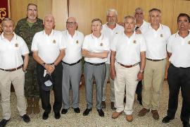 Almuerzo de compañerismo de la Asociación de Infantes en la base Jaime II