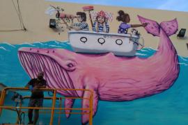 La ballena rosa de SOMA