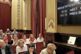 El pleno del Parlament toma en consideración la proposición de ley de Memoria Democrática
