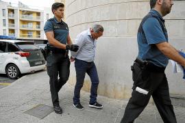 Excarcelan al autor del asesinato del Port de Pollença y le comunican los cargos