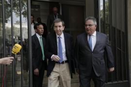 Los fiscales informan a Moix de sus dudas sobre la posible incompatibilidad de Horrach