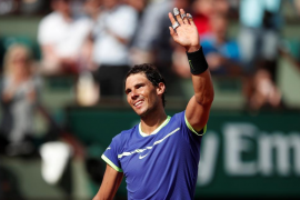 Nadal pasa por encima de Haase hacia la tercera ronda de Roland Garros