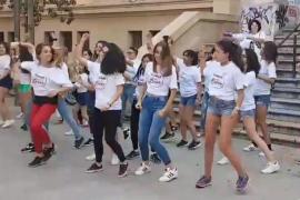'Flash mob' contra el tabaco en la Plaza del Tubo de Palma