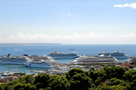 Palma recibe 50 peticiones de escala de cruceros en un día por los conflictos en Egipto y Túnez