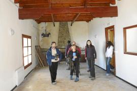 Terminan las obras de la hospedería del Castell d'Alaró después de diez años