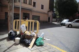 El PP denuncia que la suciedad en Palma se ha convertido en la «seña de identidad del gobierno de Hila»