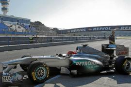 'Schumi' domina en Jerez