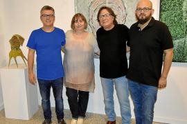 Carles Fabregat desembarca en Mallorca con su exposición 'Rostres i ombres'