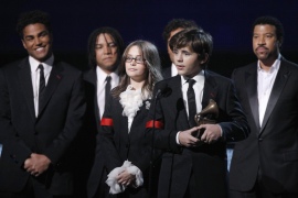 Los hijos de Michael Jackson, en los Grammy
