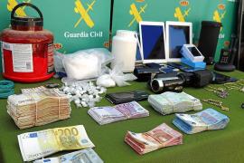 Los narcotraficantes detenidos en Pollença vendían cerca de 300 gramos de cocaína a la semana