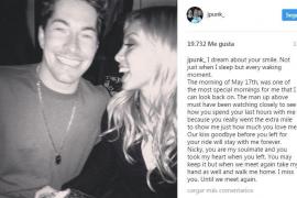 Emotiva despedida de la prometida de Nicky Hayden