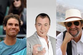 Los baleares se irían de cañas con Rafa Nadal, El Casta y Tomeu Peña
