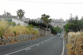 Sant Joan reclama al Consell la reforma urgente de la carretera a Vilafranca
