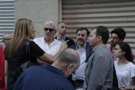 Gritos e insultos durante la charla en Palma de Hazte Oír
