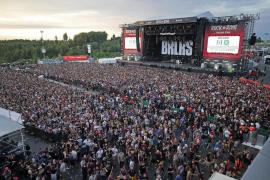 La policía interrumpen un festival de rock en Alemania por una alarma terrorista