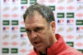 Caparrós, ante el partido contra el Mallorca: «La racha no vale para nada»