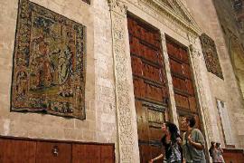 La Seu expondrá cuatro de sus tapices restaurados