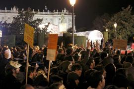 Protestas contra la ley Sinde a las puertas de los Goya