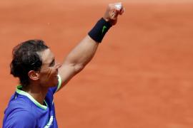Nadal no se apiada de Bautista y accede a cuartos de final de Roland Garros
