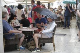 Baleares estará este lunes en riesgo importante por lluvias y tormentas