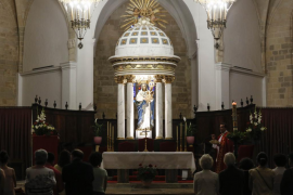 Vigilia de oración de Pentecostés en la catedral de Ibiza (Fotos: Arguiñe Escandón)