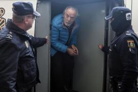 Cursach es trasladado a una prisión de Valencia