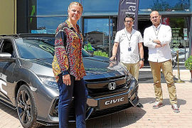 Auto Vidal Balear presentó el nuevo Civic sedán en Ekarts Mallorca