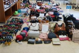 La Policía de Palma interviene 1.151 objetos de la venta ambulante