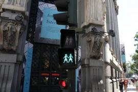 Madrid implanta nuevos semáforos igualitarios, paritarios e inclusivos