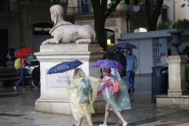 Mallorca registra un récord histórico de precipitaciones