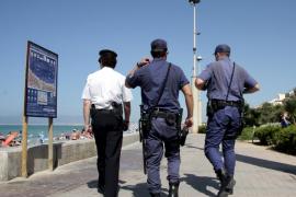 Detenido un turista alemán por una agresión sexual en la Playa de Palma