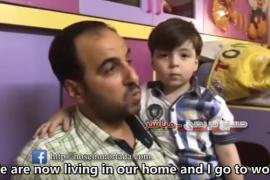 El niño Omran, un año después del ataque sobre Alepo