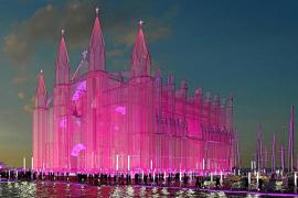 Un empresario austriaco quiere construir una réplica de la Catedral de Palma en cristal sobre el mar