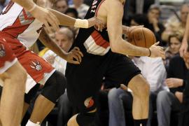 Rudy Fernández brilla en la victoria  de los Blazers ante los Timberwolves