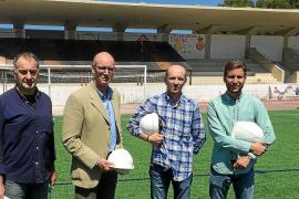 S'Arenal podrá utilizar la gradería del campo de fútbol tras años de clausura