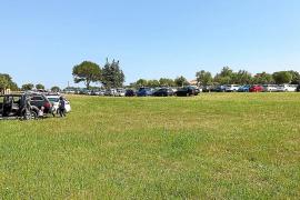 El aparcamiento para coches de Son Real está sobre un yacimiento arqueológico