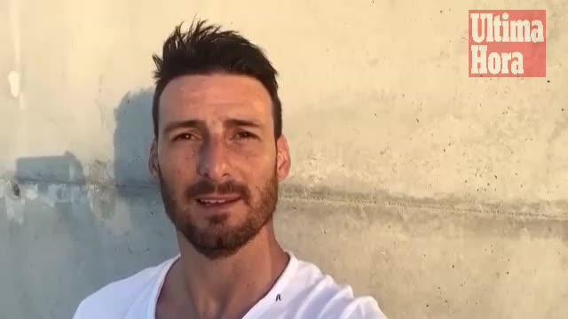 Aduriz manda un mensaje de apoyo a los aficionados del Mallorca