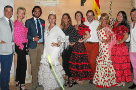 Fiesta rociera en casa de Concha Gómez-Puche y Arturo Lope